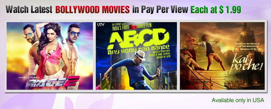 Watch Unlimited Regional Bollywood Movies Online With HQ At YuppTV
